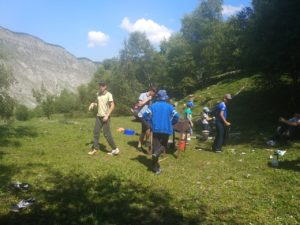 походы в лагере