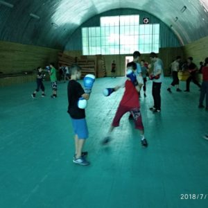 тренировки в лагере